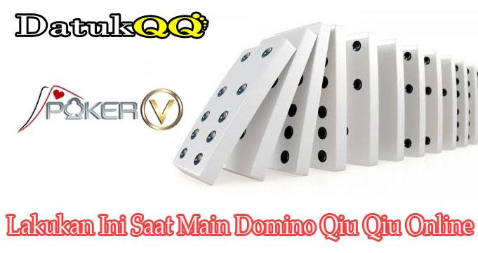 Lakukan Ini Saat Main Domino Qiu Qiu Online